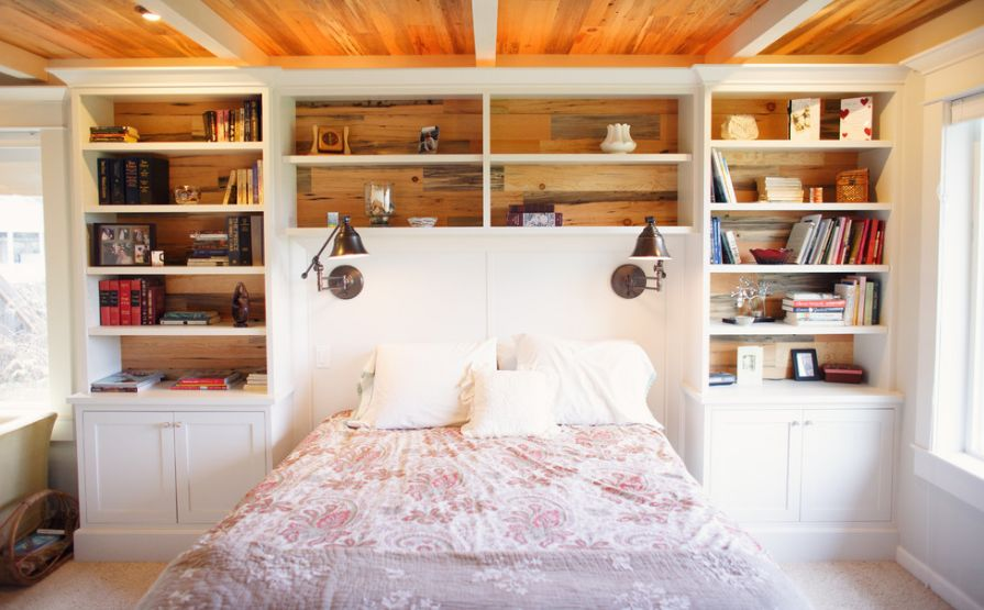 Bookcase Headboard