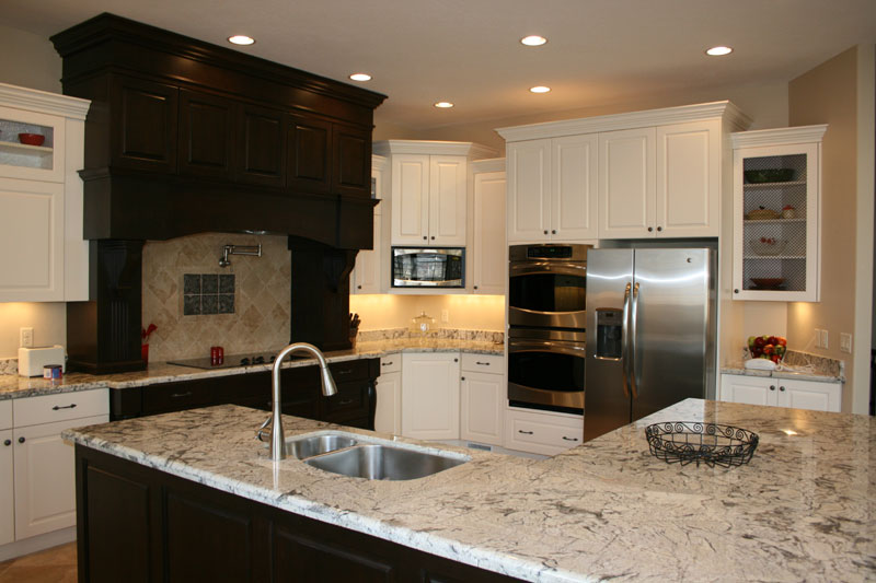 dual tone kitchen